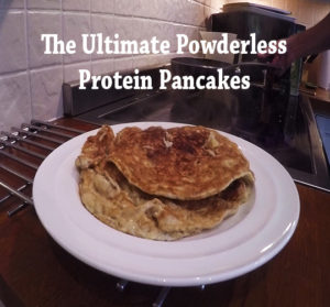 the ultimate powderless protein pancakes