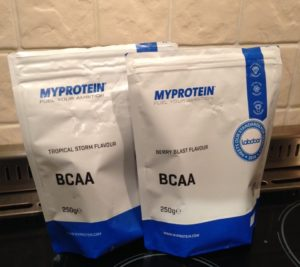 myprotien BCAA branch chain amino acid supplement review
