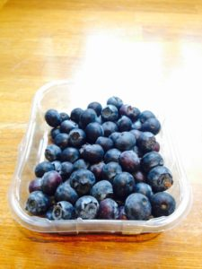 blue berries muscle building meal