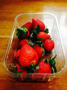 strawberries muscle building meal