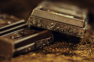 dark chocolate easy muscle building meal