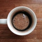 black coffee muscle building