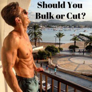 Should You Bulk or Cut lean muscle building