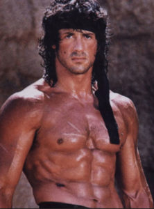 Sylvester Stallone Workout Rambo physique height weight