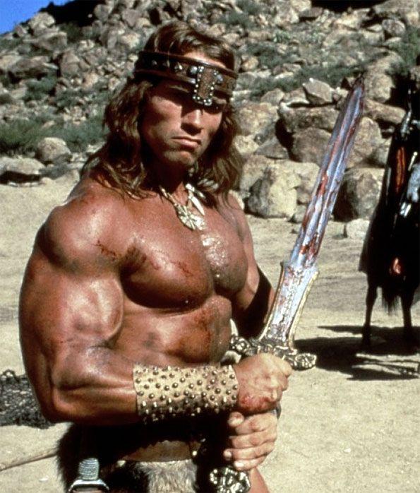 arnold schwarzenegger conan movie body muscle