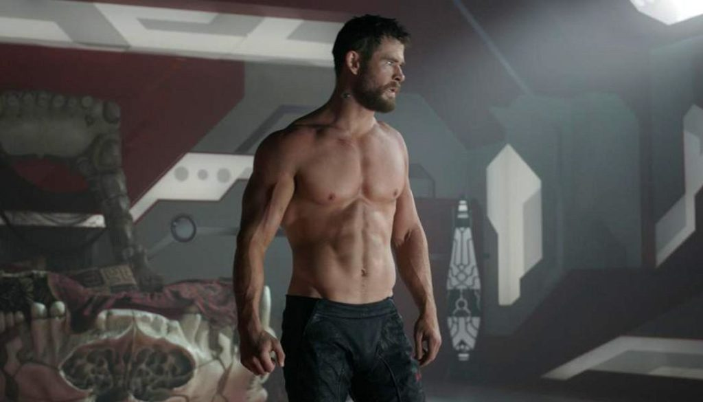chris hemsworth Thor body shredded muscle workout