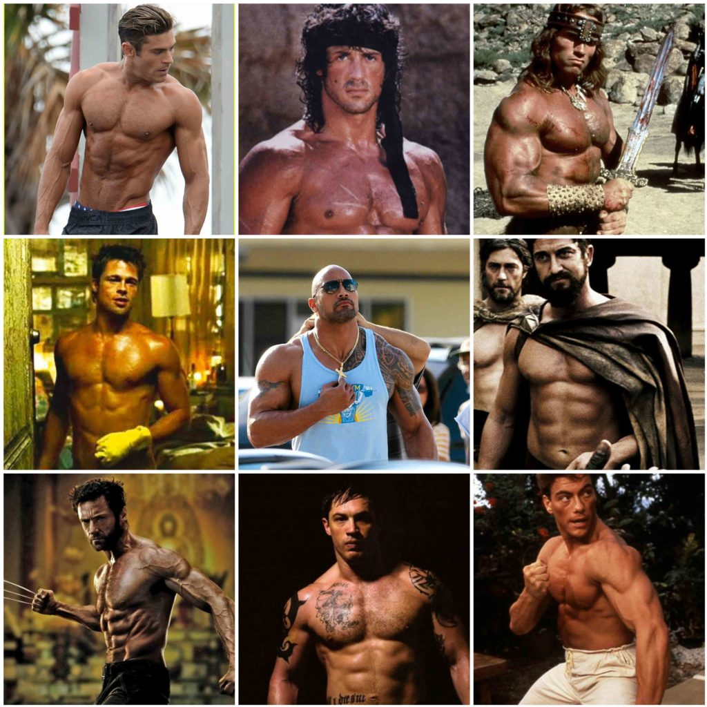 Can You Get Film Star Muscles Without Taking Steroids